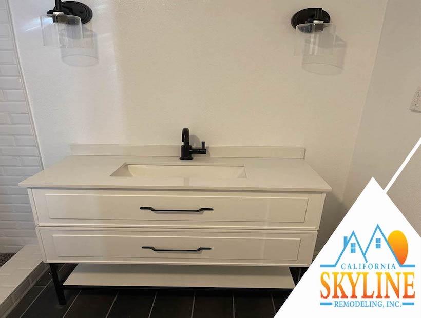 bathroom sink final 01- California Skyline Remodeling