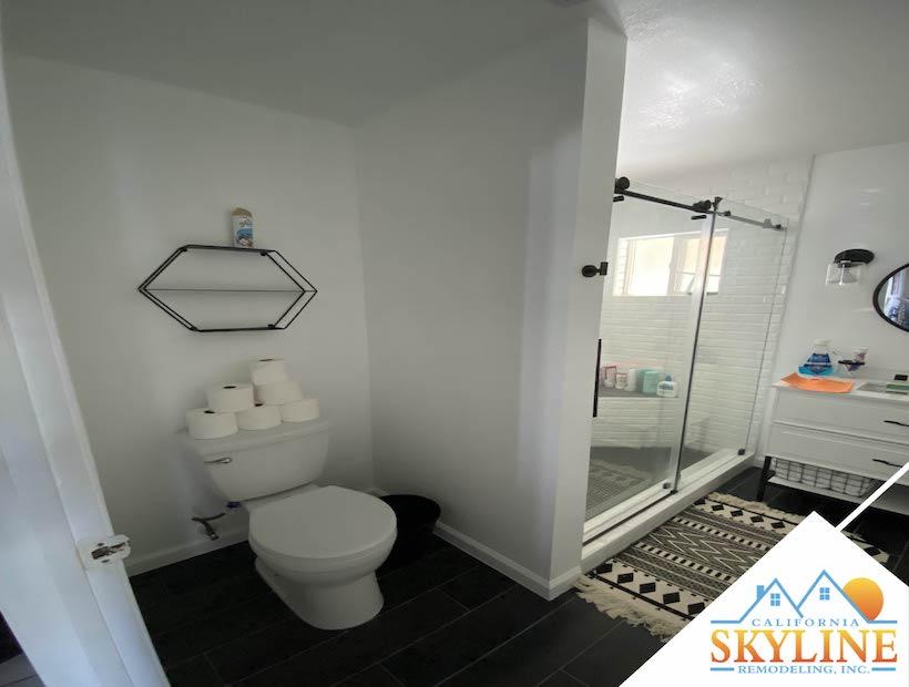 bathroom toilet 01- California Skyline Remodeling