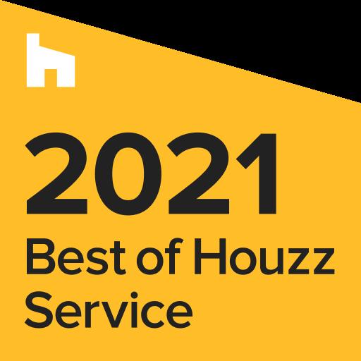 best of houzz 2021 service award- California Skyline Remodeling