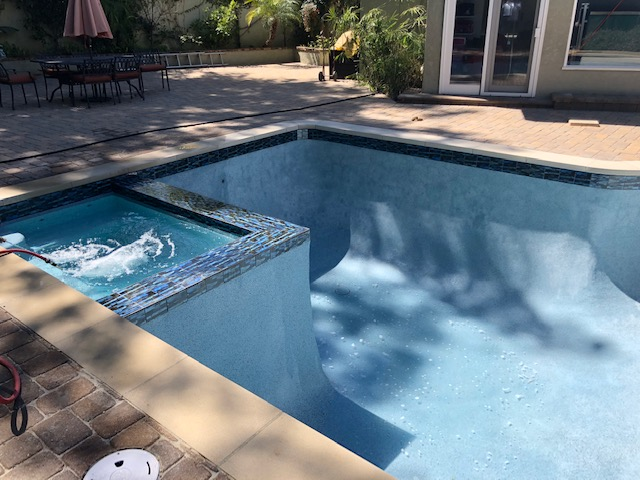 pool and spa remodel- California Skyline Remodeling