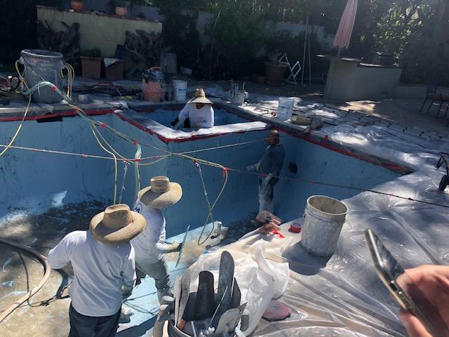 pool remodel spa- California Skyline Remodeling